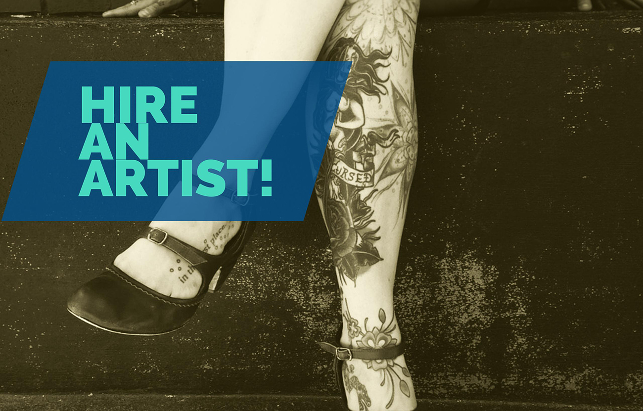 hire an artist to increase business