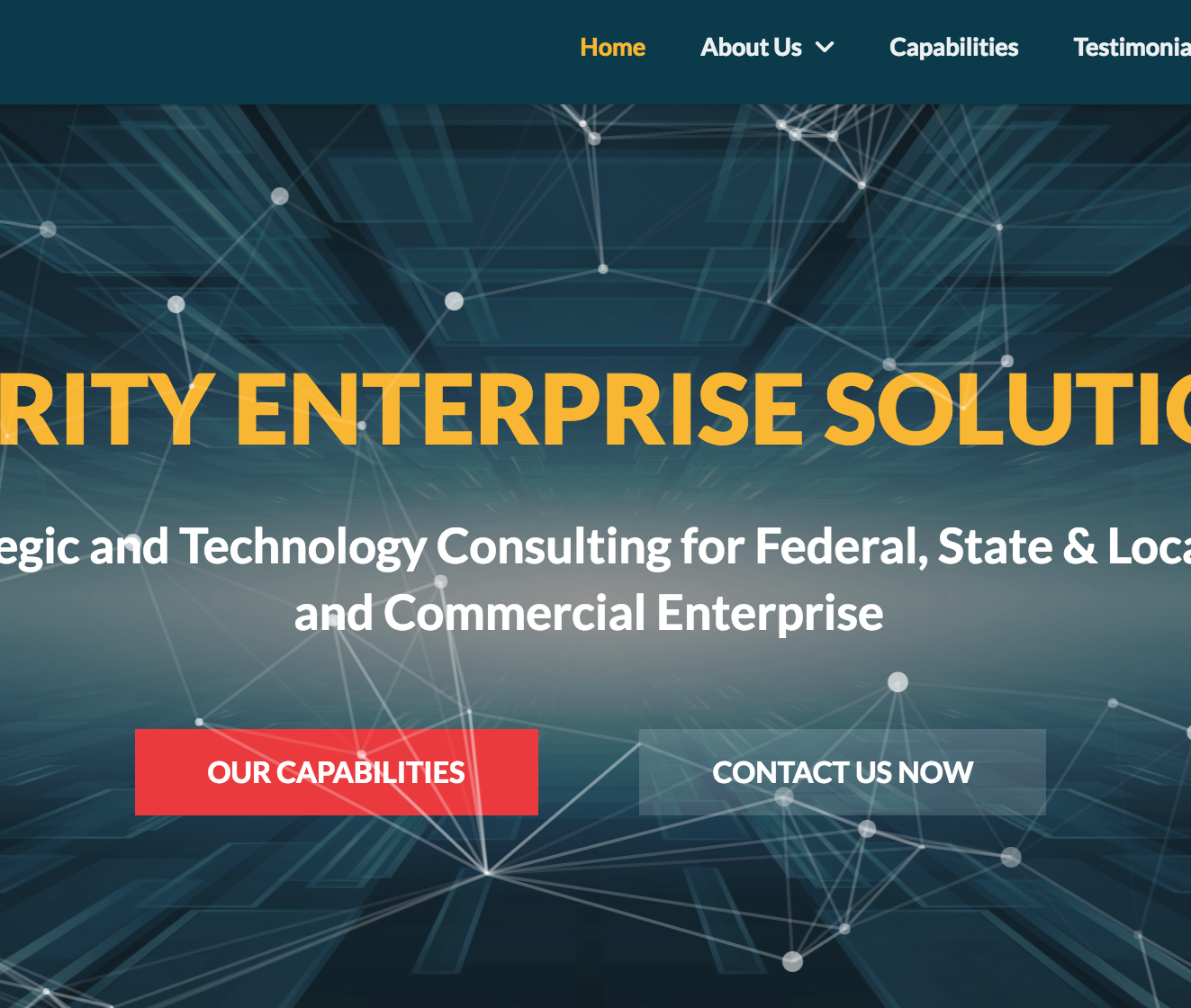 Clarity Consulting Featured Image Web Design