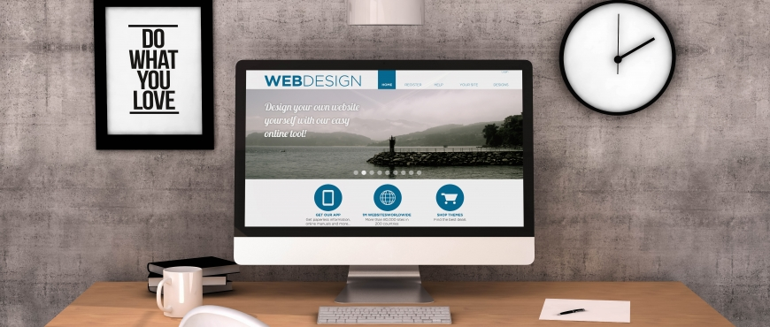 2018 web design features