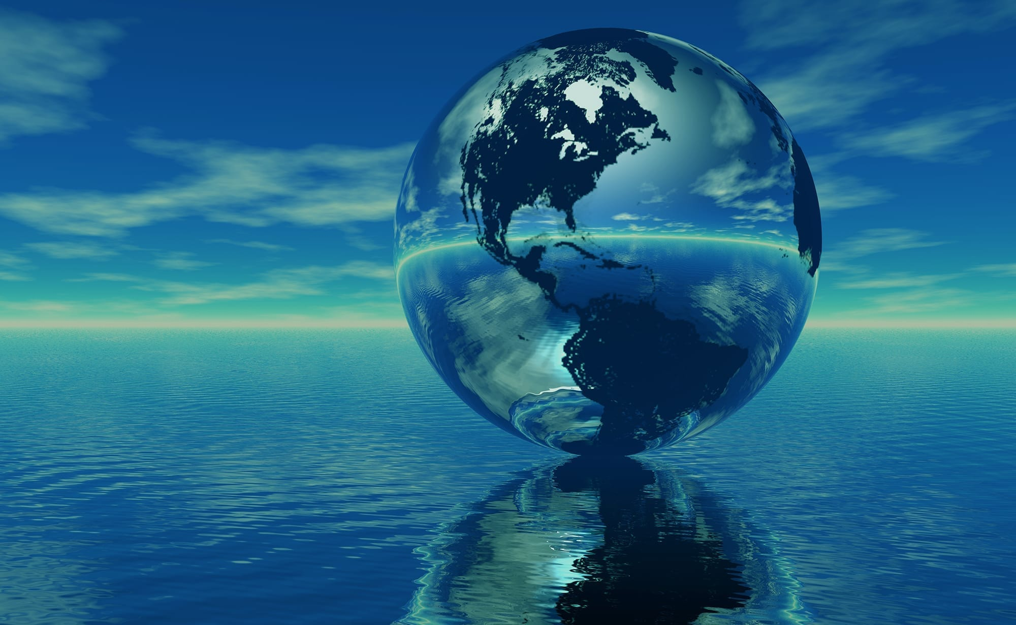 океаны занимают процентов земли