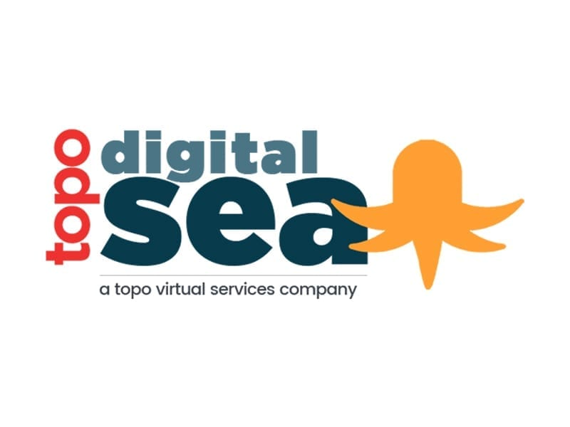 Topo Digital Sea Logo